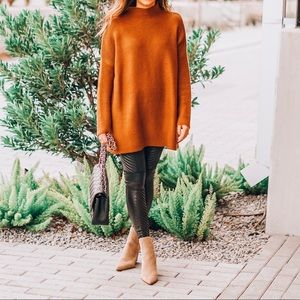 Chicwish brown sweater